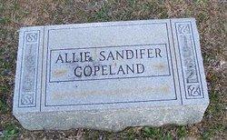 Allie <I>Sandifer</I> Copeland