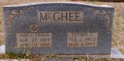 Esther C McGhee