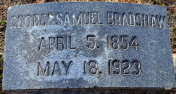George Samuel Bradshaw