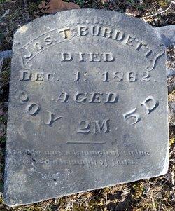 Joseph Toliver Burdett