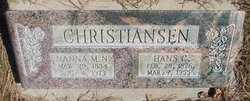 Nanna Marie <I>Nielson</I> Christiansen