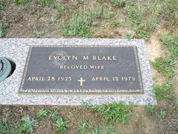 Evolyn M Blake