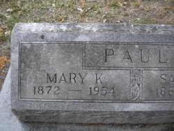 Mary <I>Kelly</I> Paul