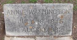 Annie <I>Johnson</I> Washington