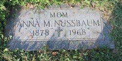 Anna M. <I>Taphorn</I> Nussbaum