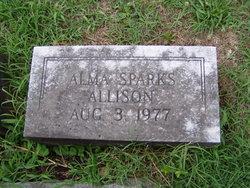Alma <I>Sparks</I> Allison