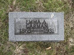 Emma Amelia <I>Clark</I> Carman