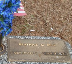 Beatrice M <I>Tackett</I> Belk