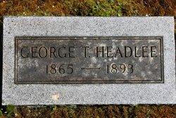 George Debolt Headlee