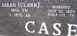 "Sarah ""Sadie"" <I>Clark</I> Casey"