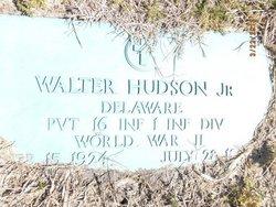Pvt Walter J Hudson, Jr