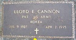 Lloyd E. Cannon