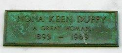 Nona K <I>Keen</I> Duffy