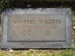 Winifred Viola <I>Snyder</I> Boggs