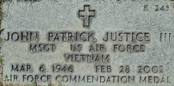 John Patrick Justice, III