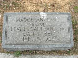 "Magdaline Wilhelmina ""Madge"" <I>Andrews</I> Cartland"