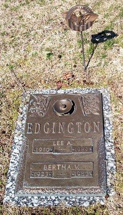 Bertha Vivian <I>Hackathorn</I> Edgington