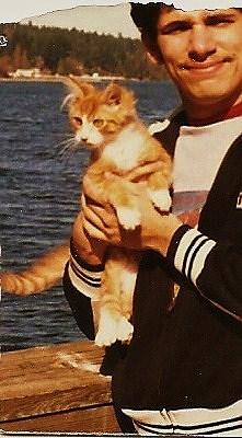 """Biddie Orange """"Beloved"""" <I>Hecht</I> Cat"""