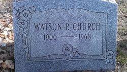 Watson P Church