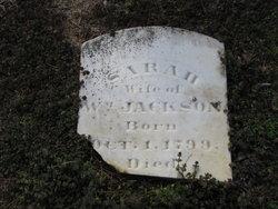 Sarah Ann <I>Bayless</I> Jackson