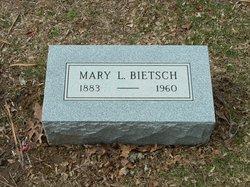 Mary L <I>Hartmann</I> Bietsch