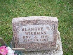Blanche B Wickman