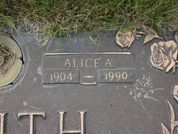 Alice Alberta <I>Sellwood</I> Smith