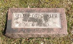 Selma A <I>Wachter</I> Drechsler