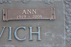 Ann Elizabeth <I>Galinovsky</I> Brenzovich