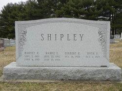 Mamie Elizabeth <I>Gist</I> Shipley
