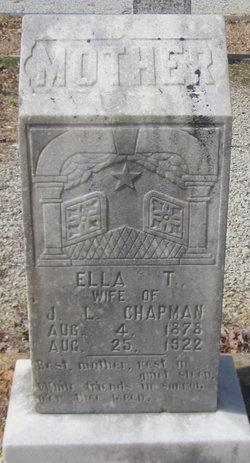 Ella Thomas <I>Lundy</I> Chapman