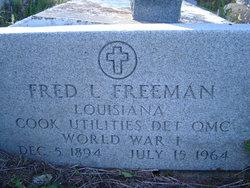 Fred Lee Freeman