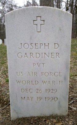 Joseph D Gardiner