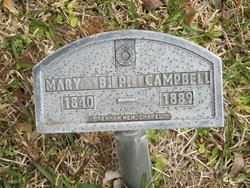 Mary B <I>Pleasants</I> Campbell