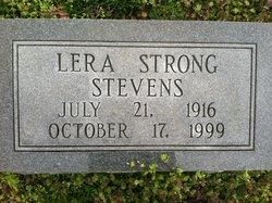 Lera <I>Strong</I> Stevens