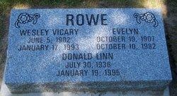 Evelyn <I>McKay</I> Rowe