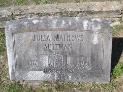 """Julia """"Mama Julia"""" <I>Heath</I> Aultman"""