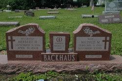 Herbert H Backhaus