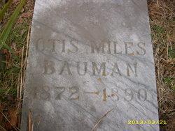 Otis Miles Bauman