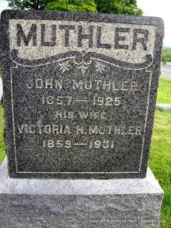 Victoria Henrietta <I>Peter</I> Muthler
