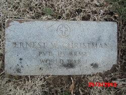 Ernest W Christman