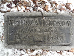 Matilda <I>Thierry</I> Mathews