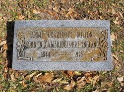 Annie Charlotte <I>Wallis</I> Bolton