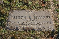 Allison R. Billings
