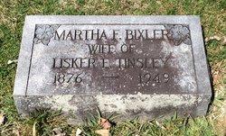 """Martha F. """"Mattie"""" <I>Bixler</I> Tinsley"""