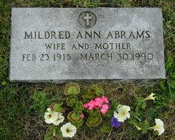 Mildred Ann <I>Derda</I> Abrams