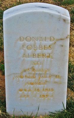 Donald F Albert