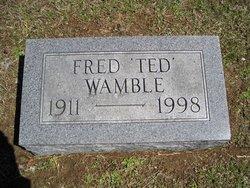"""Fred B """"Ted"""" Wamble"""