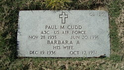 Paul M Cudd