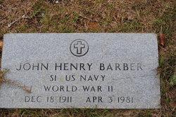 John Henry Barber